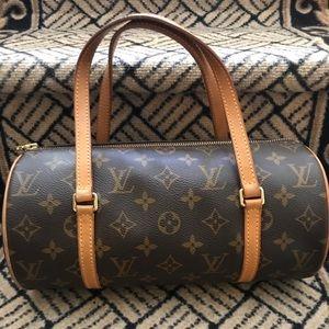 Louis Vuitton vintage barrel Papillon bag